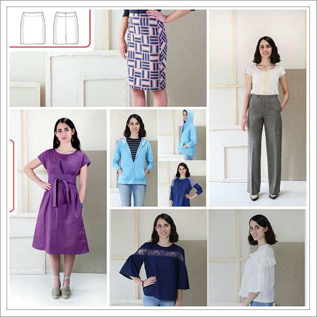 542e03b4a6 Liesl + Co. also added 5 new patterns to the PatternReview shop. The Exrtra Sharp  Pencil Skirt was one on the big standouts.