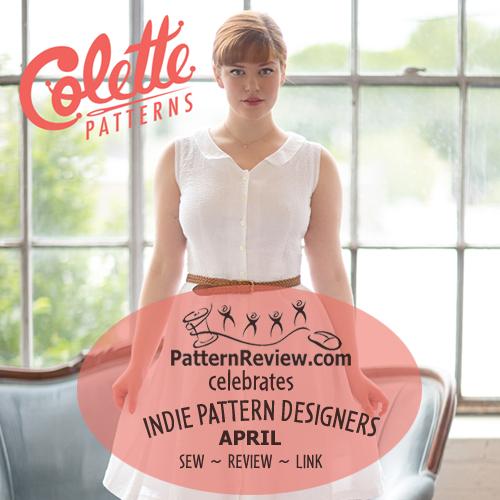 Celebrating Indie Patterns - April - Colette Patterns 4/2/14 ...