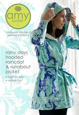 c48f5d8d4 Amy Butler AB043HR The Rainy Days Hooded Raincoat and ...