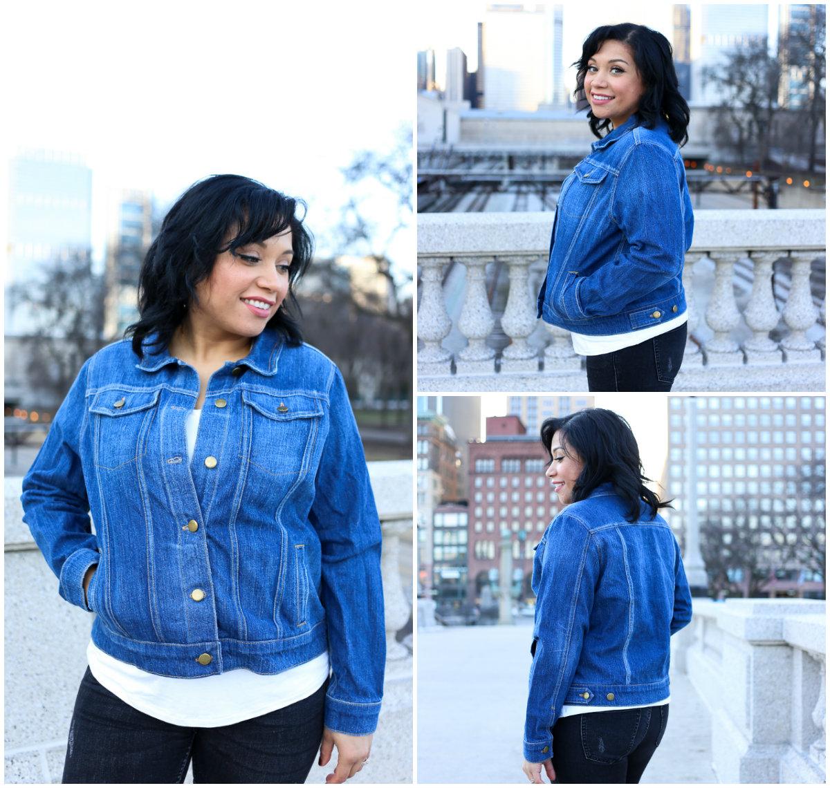 Alina Sewing + Design Co 1221 Hampton Jean Jacket Downloadable Pattern