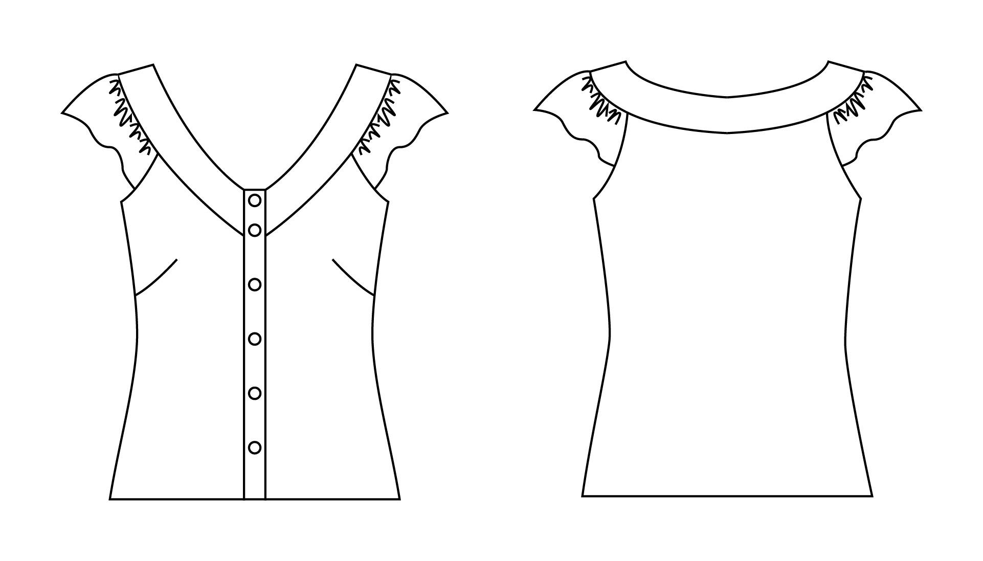 Angela osborn ss10 11 102 esther blouse downloadable pattern prevnext jeuxipadfo Images