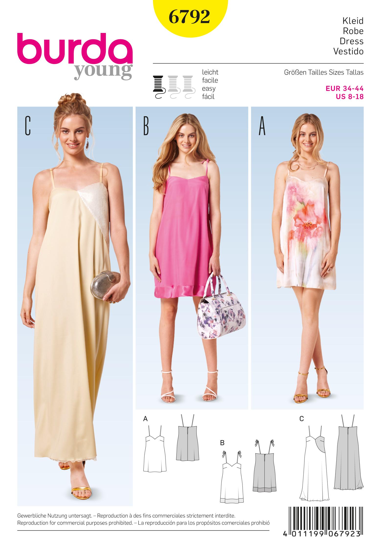 Burda 6792 Burda Style Dresses
