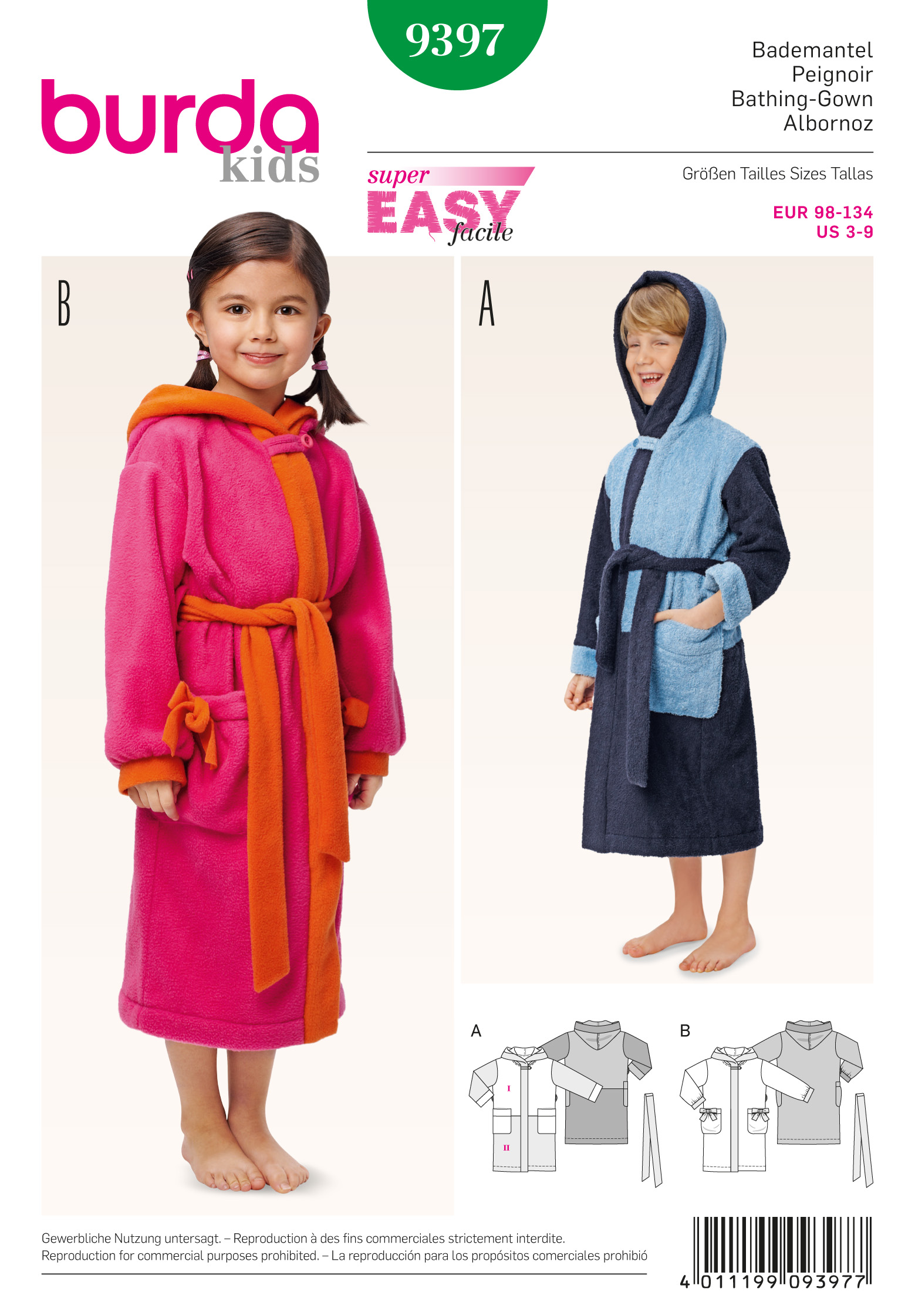 Hooded Robe Pattern Amazing Decorating Design