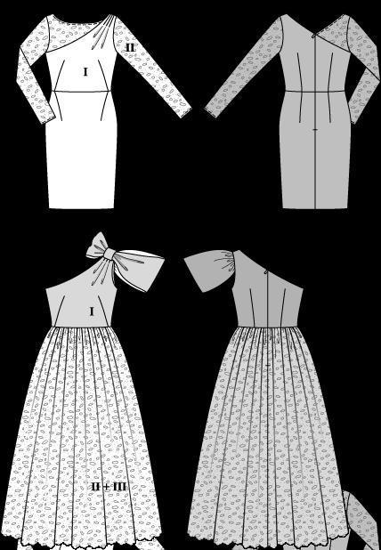 Burda 6868 Dresses