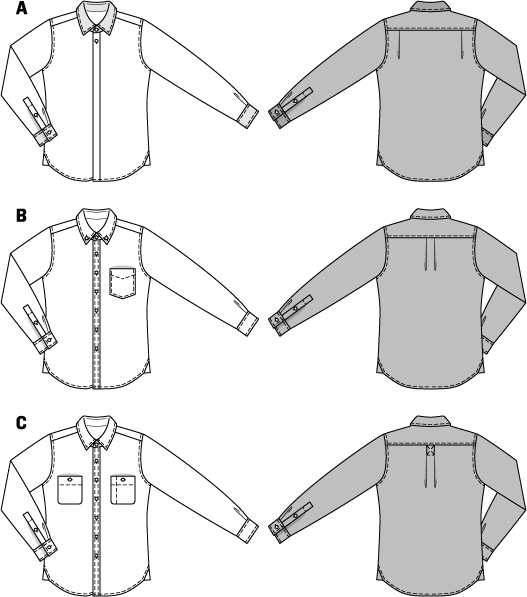 Buy Patterns For Men S Shirts 105