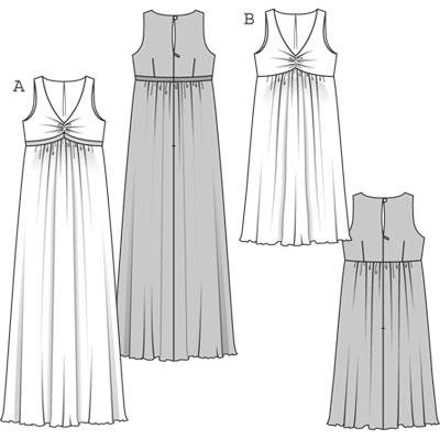 0e7d534b96b72 Burda 7630 Misses Maternity Dress