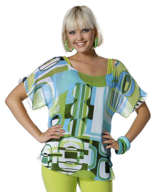 BURDA facile 7793 sewing pattern T-shirt et top Taille européenne 38-50