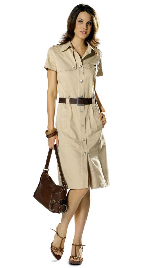 Brand-new Burda 7827 Dress QW44