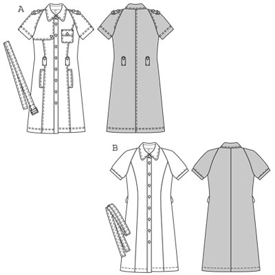 Burda Dress 7827