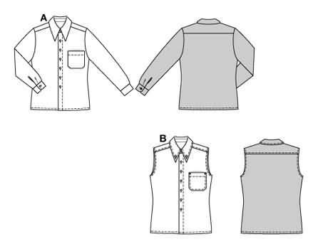 Burda 8471 Shirt