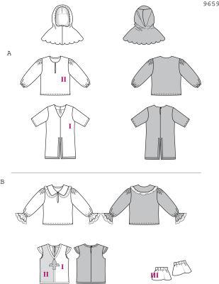 Burda 9659 Child s Musketeer Costume e87bae9363c