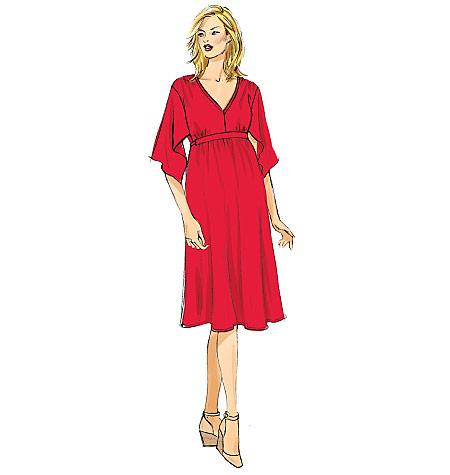 Butterick 6226 Misses Maternity Tunic Dress Jumpsuit Belt And Leggings