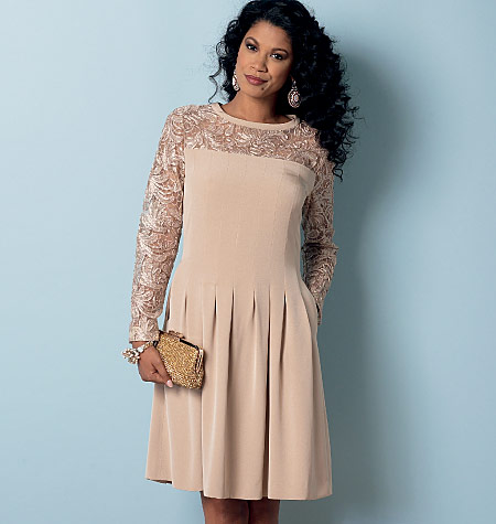 Butterick 6281 Misses Misses Petite Dress