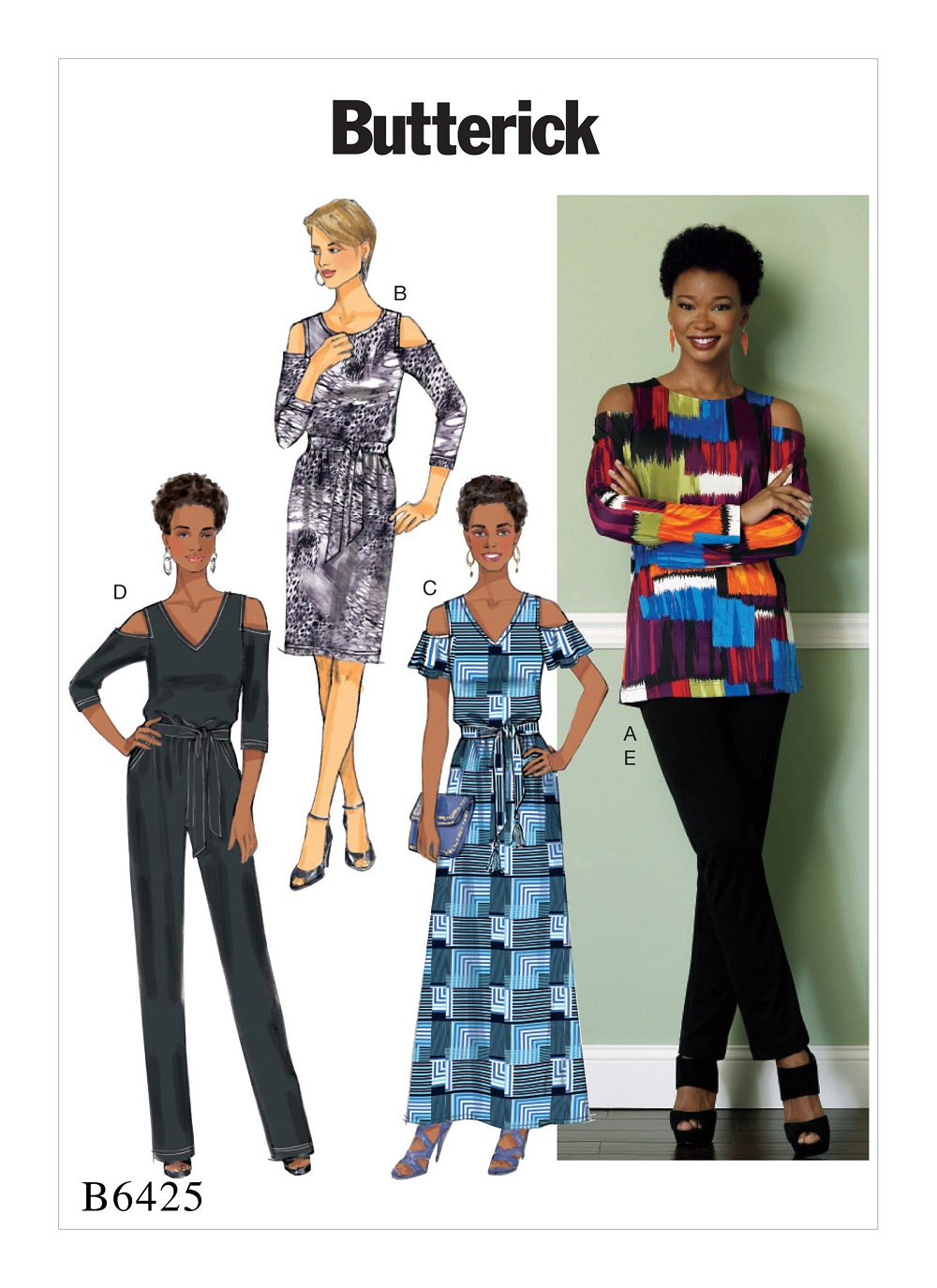 Image result for images butterick 6425