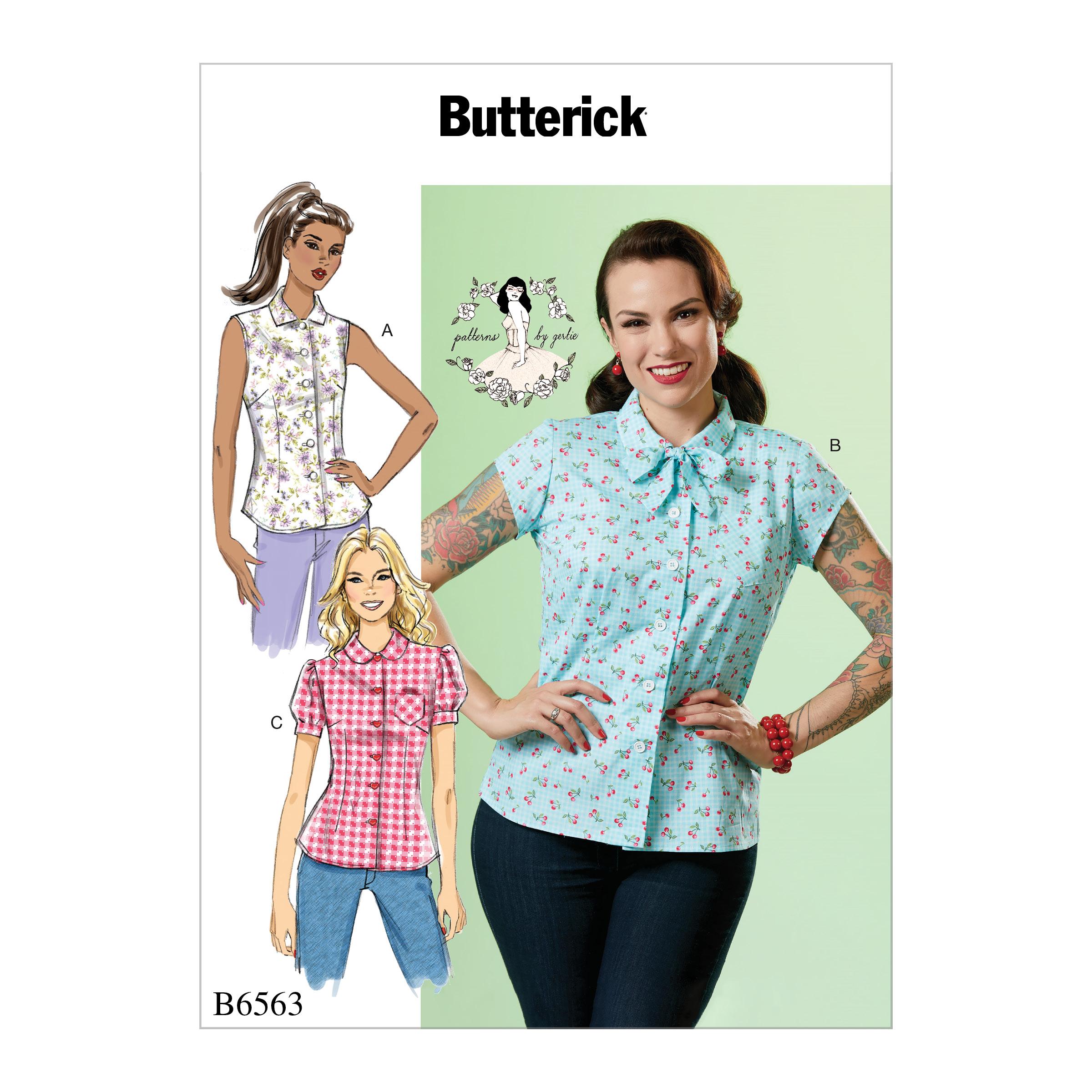 Butterick 6563 misses top prevnext jeuxipadfo Image collections