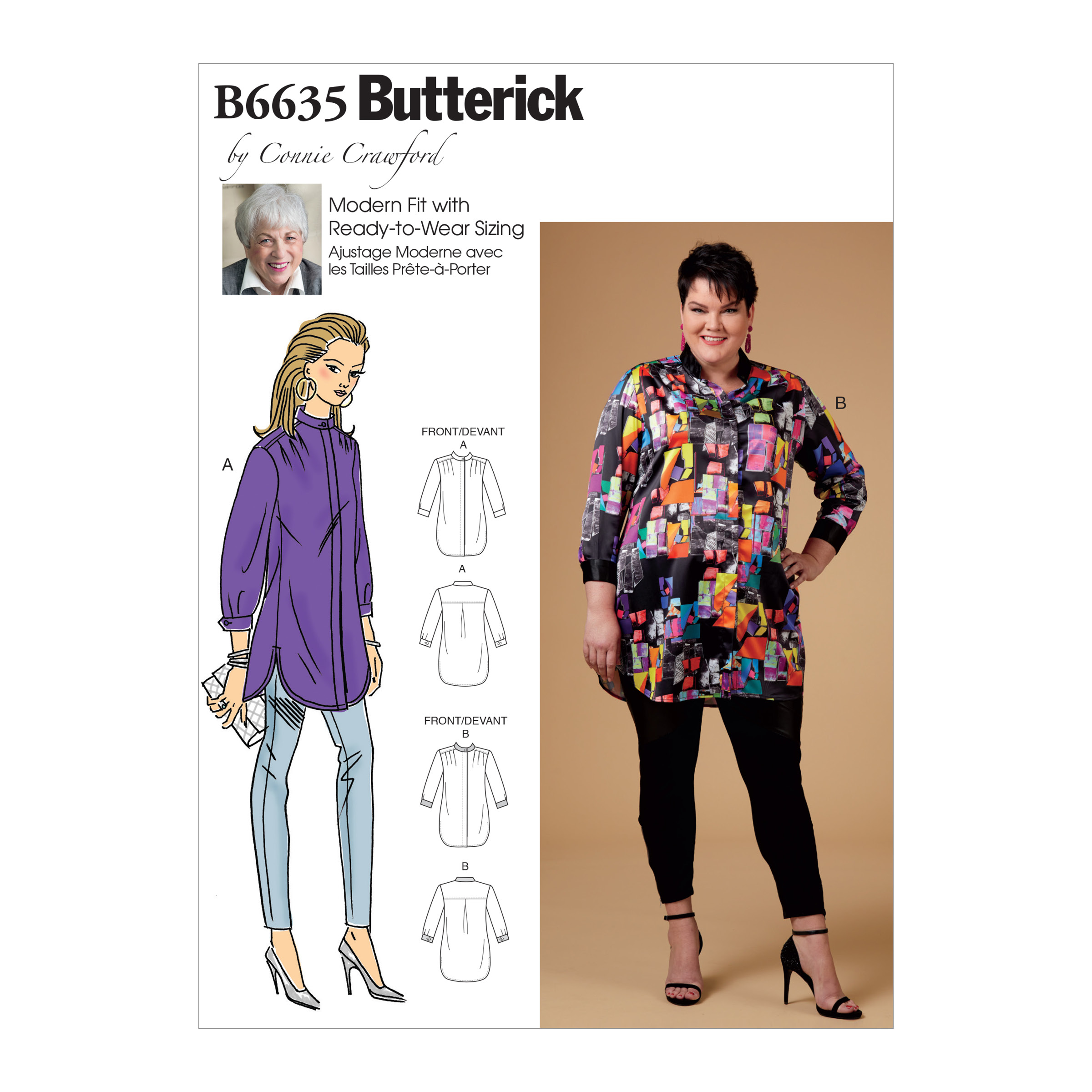 Butterick Sewing Pattern Connie Crawford Ready to Wear Sizing Modern Fit U Pick