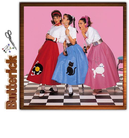 Butterick 4114 Poodle Skirt