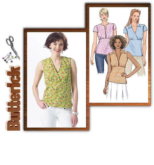 Butterick 4549 Summer blouses/tops