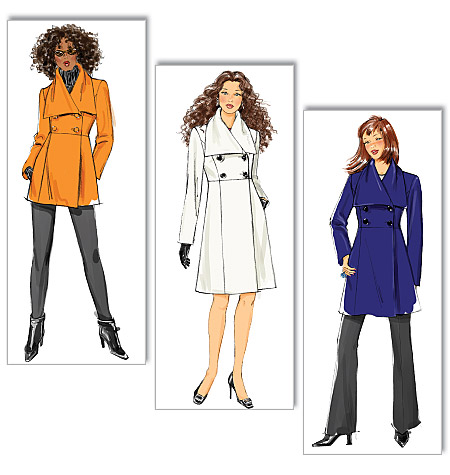 Butterick 5685 Misses Jacket And Coat