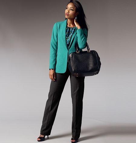 Butterick 5965 Misses' /Women's Jacket, Top, Dress, Skirt and ...