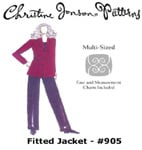 Christine Jonson Fitted Jacket