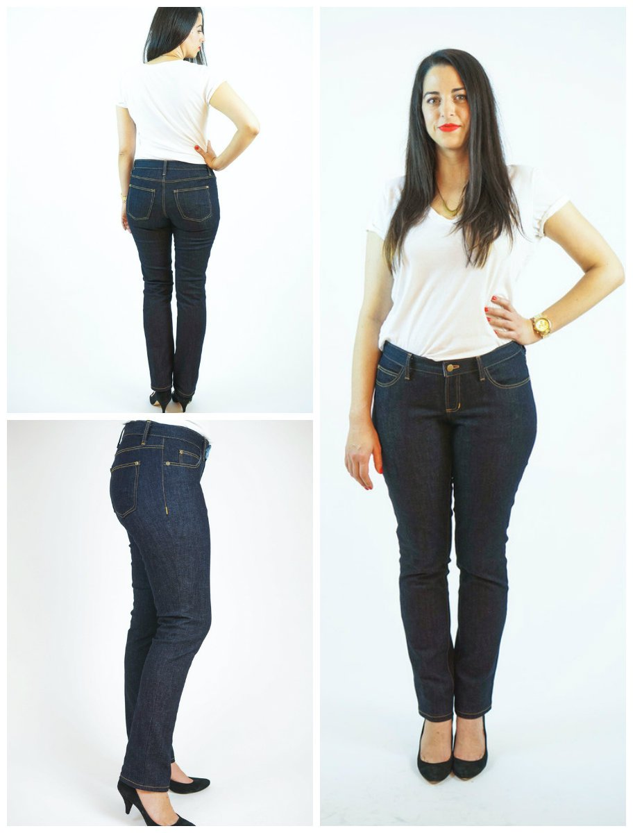 34e707846c PrevNext. Classic 5-pocket jeans are given a fresh look with the Ginger  Jeans sewing pattern.