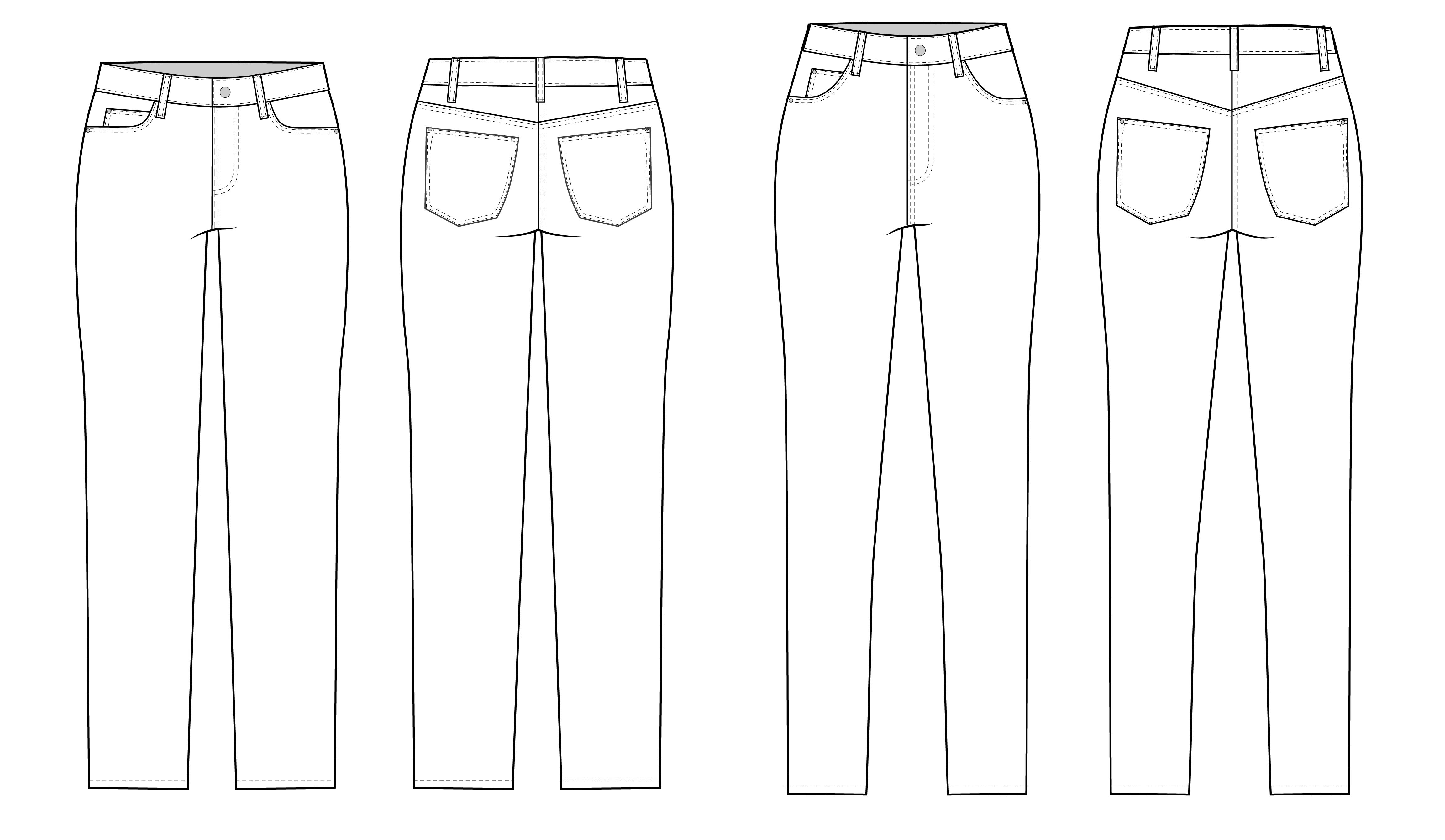 537171e169 PrevNext. Classic 5-pocket jeans are given a fresh look with the Ginger  Jeans sewing pattern.