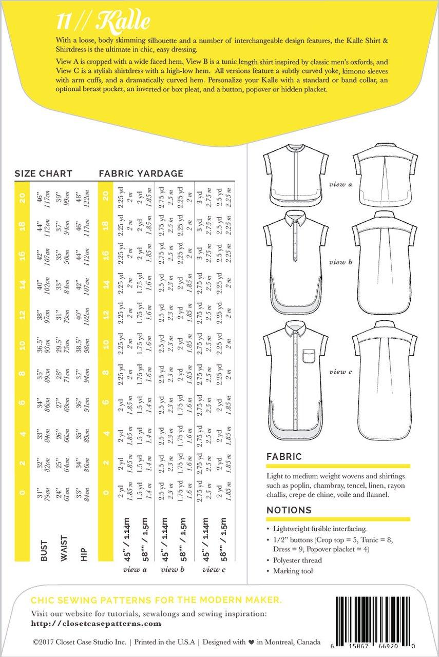 Closet case patterns kalle shirt and shirtdress prevnext jeuxipadfo Image collections