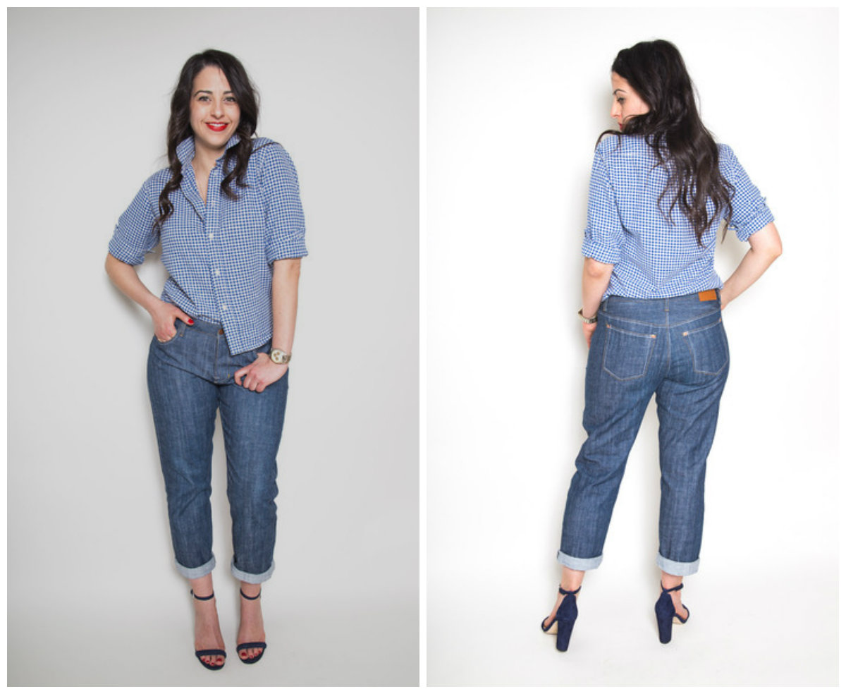 Closet Case Patterns Morgan Boyfriend Jeans
