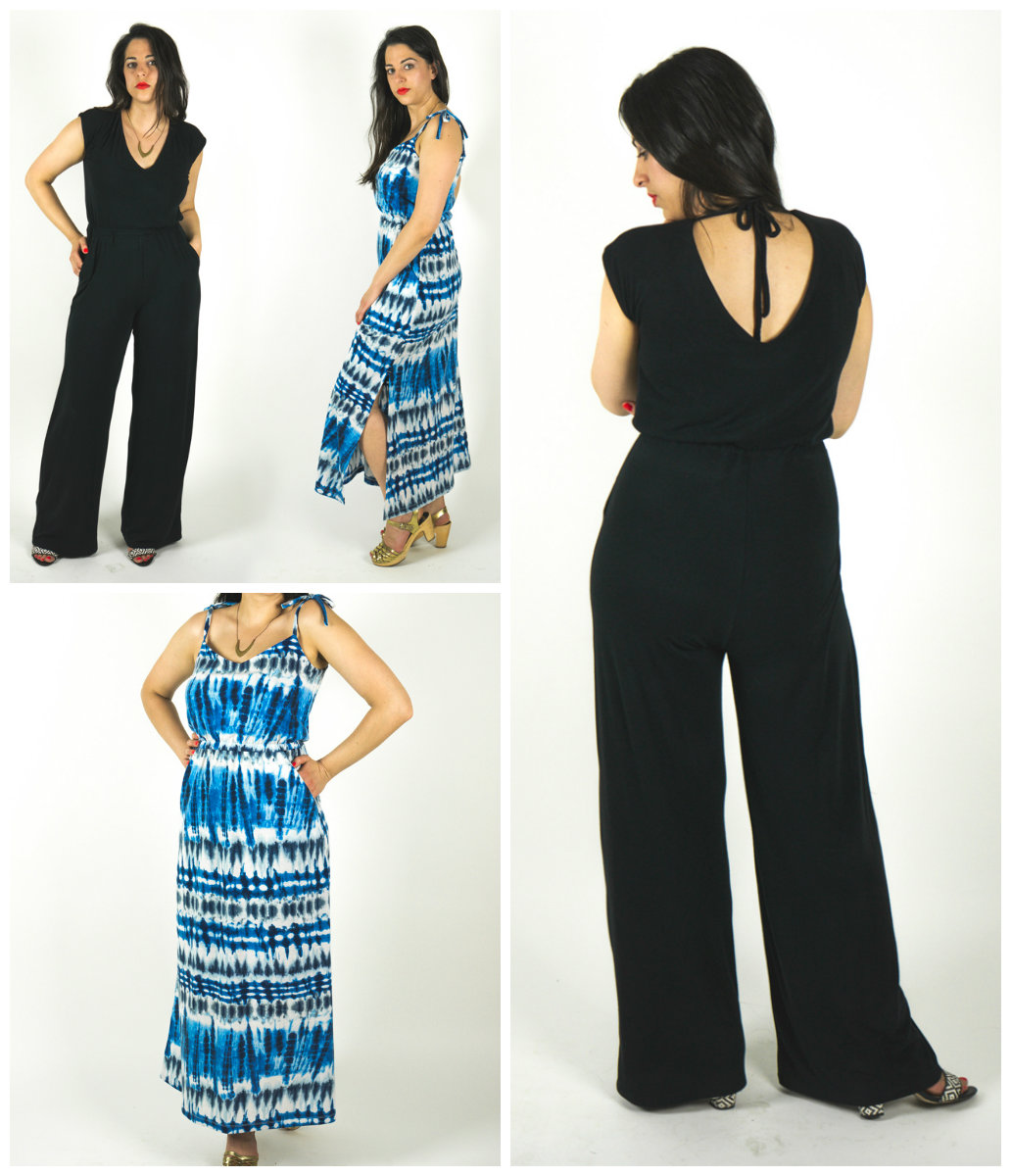 Closet Case Patterns Sallie Jumpsuit and Dress Sallie ...