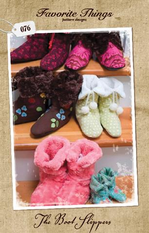 Favorite Things The Boot Slippers Pattern