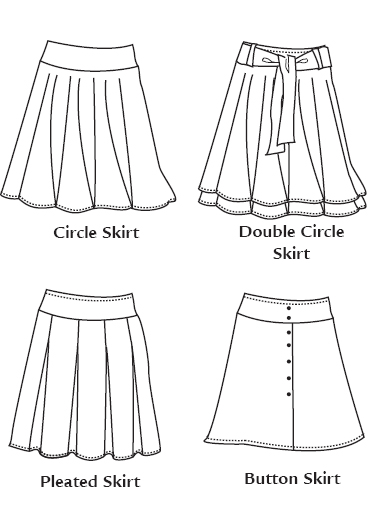 Favorite Things L007 Little Hip Skirts