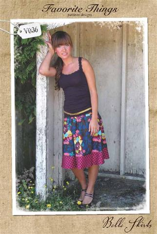 Favorite Things Belle Skirts Pattern