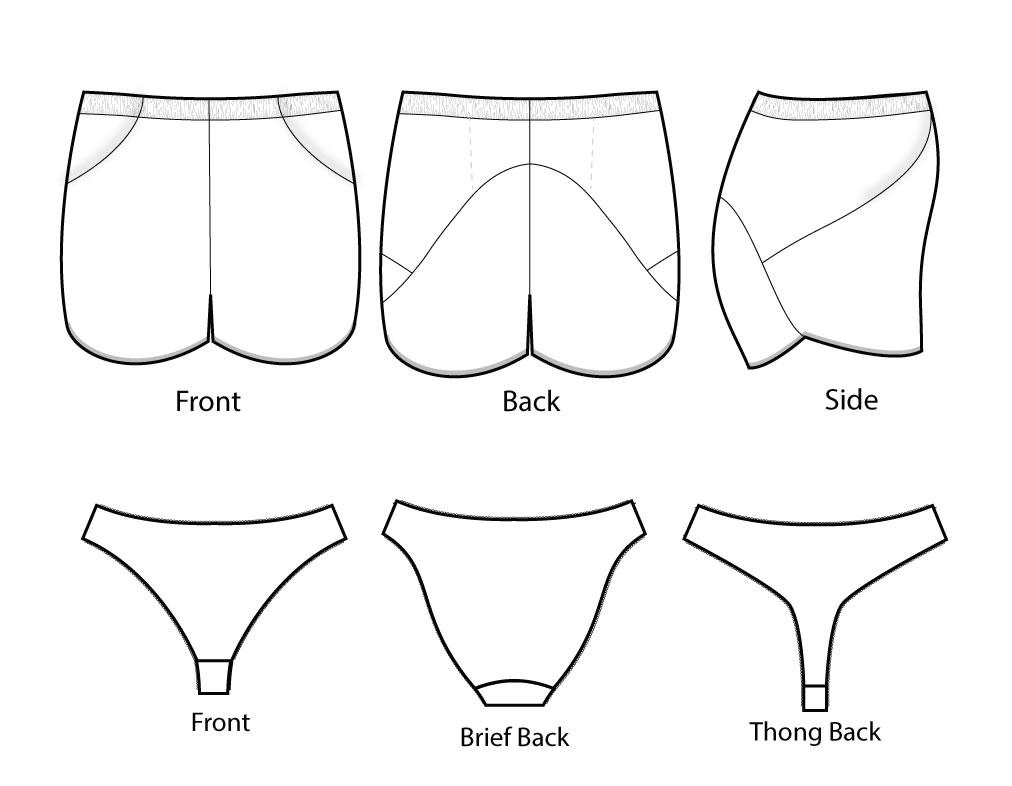 Fehr Trade 105 Threshold shorts Downloadable Pattern