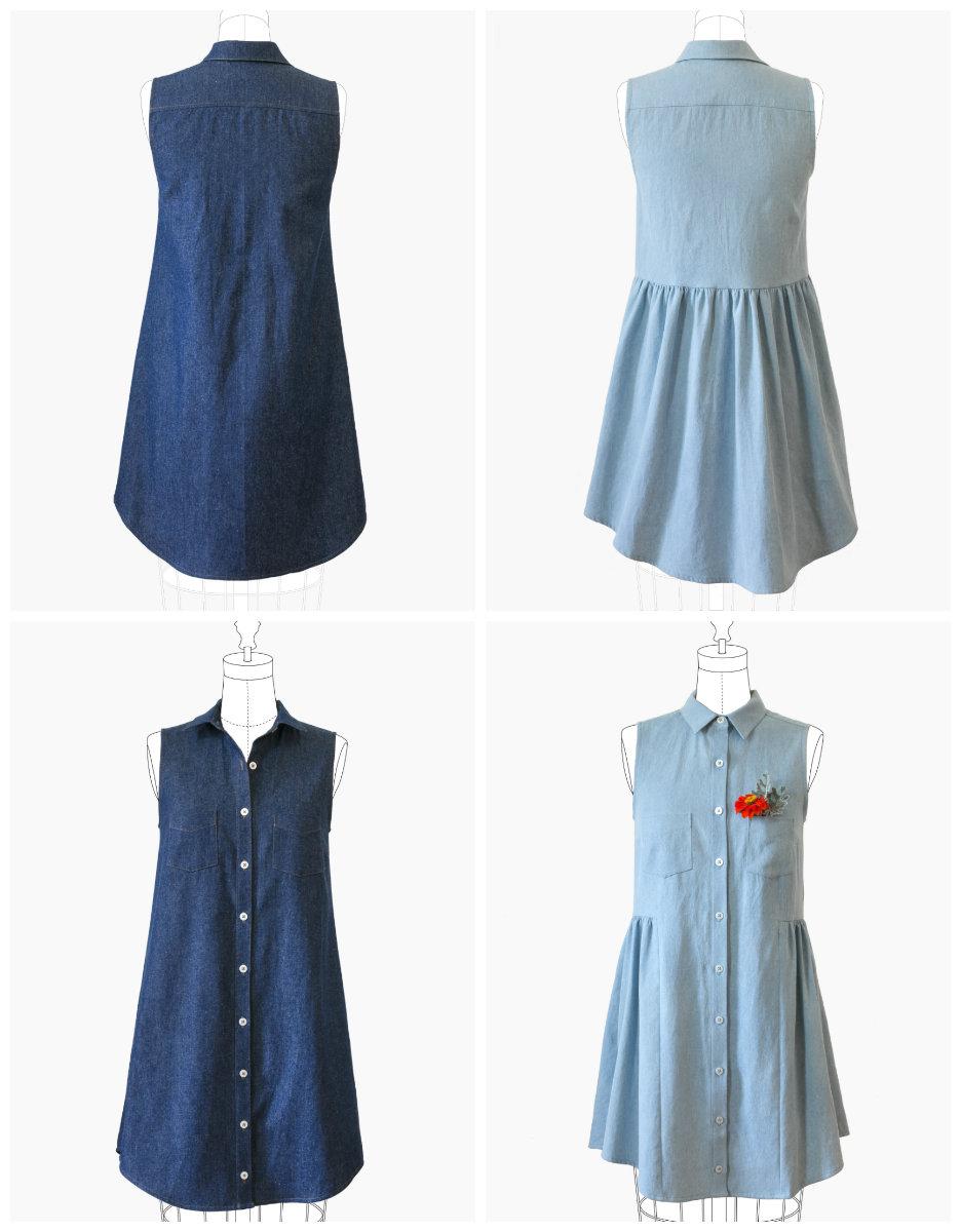 Grainline Studio 13001 Alder Shirtdress