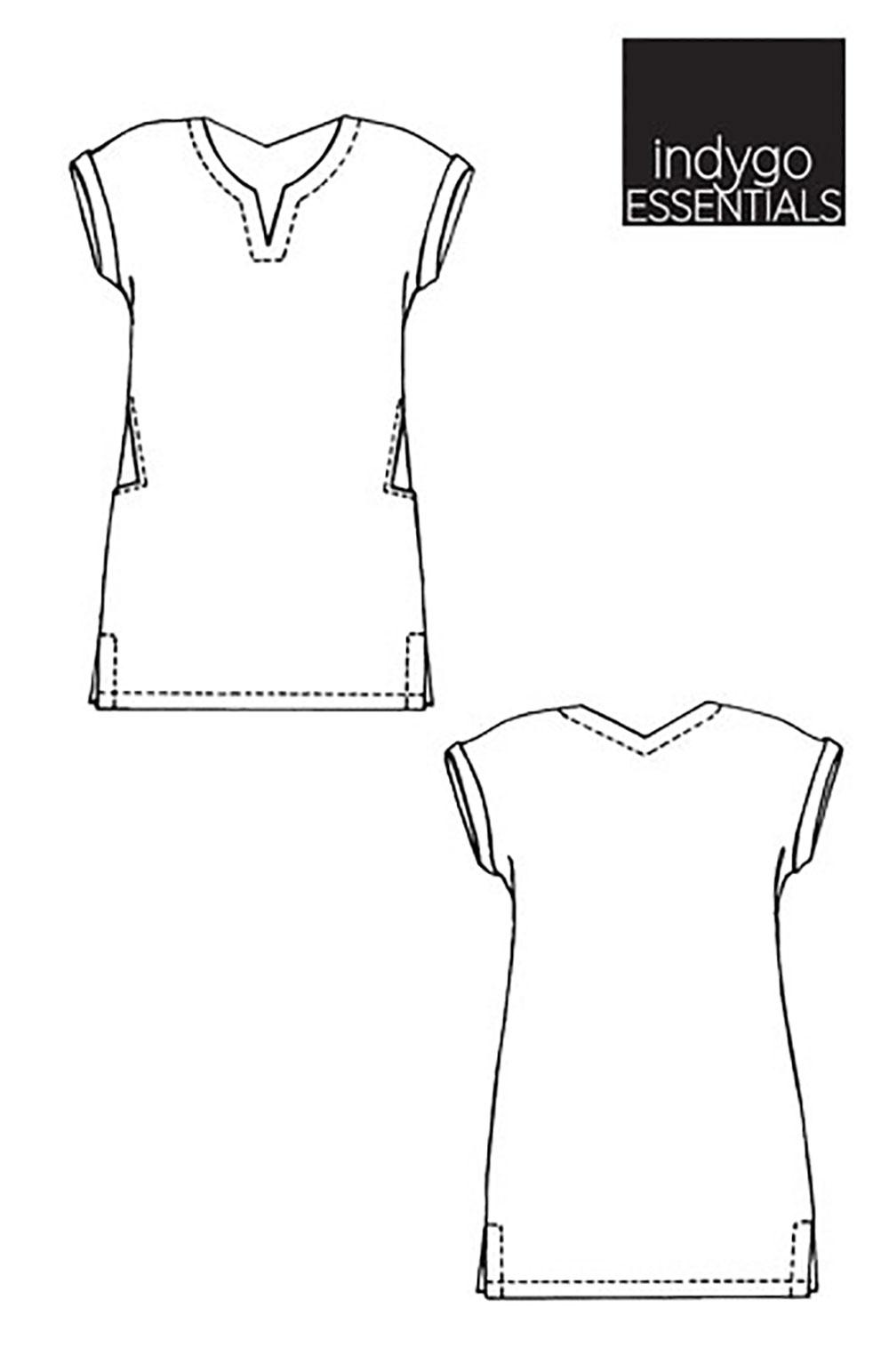 4fdf943957 Indygo Junction IJ1151E Indygo Essentials - Shift Dress Downloadable ...