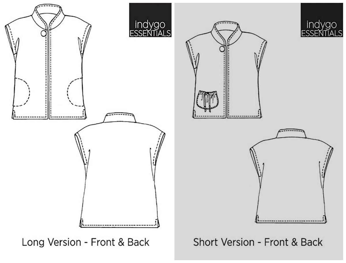 Vest Sewing Pattern Simple Inspiration