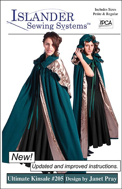 Islander Sewing Systems The Ultimate Kinsale Cloak Pattern