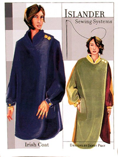 Islander Sewing Systems Irish Coat Pattern Pattern
