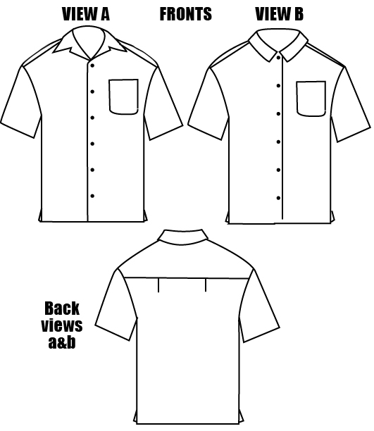 Islander Sewing Systems 208 Men S Islander Shirt Pattern