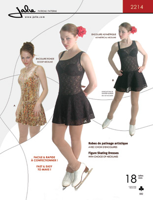 Jalie 2214 Figure Skating Dresses