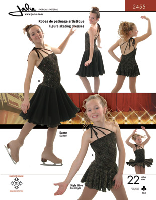 Jalie 2455 Figure Skating Dresses