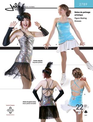 Jalie 2789 Figure Skating Dress