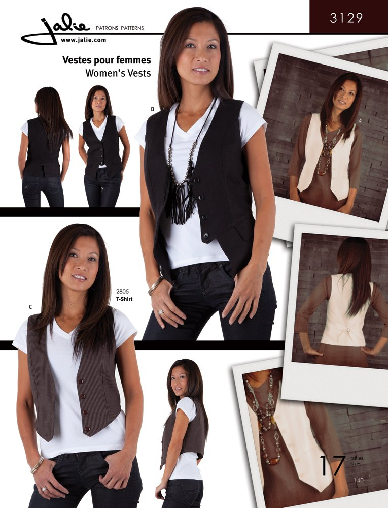 Jalie 3129 Women\'s Vests