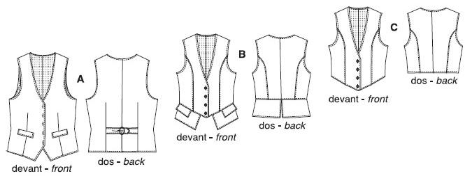 PrevNext - Jalie 3129 Women's Vests