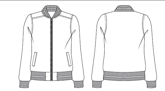 Charlie Jacket from Jalie Sewing Patterns