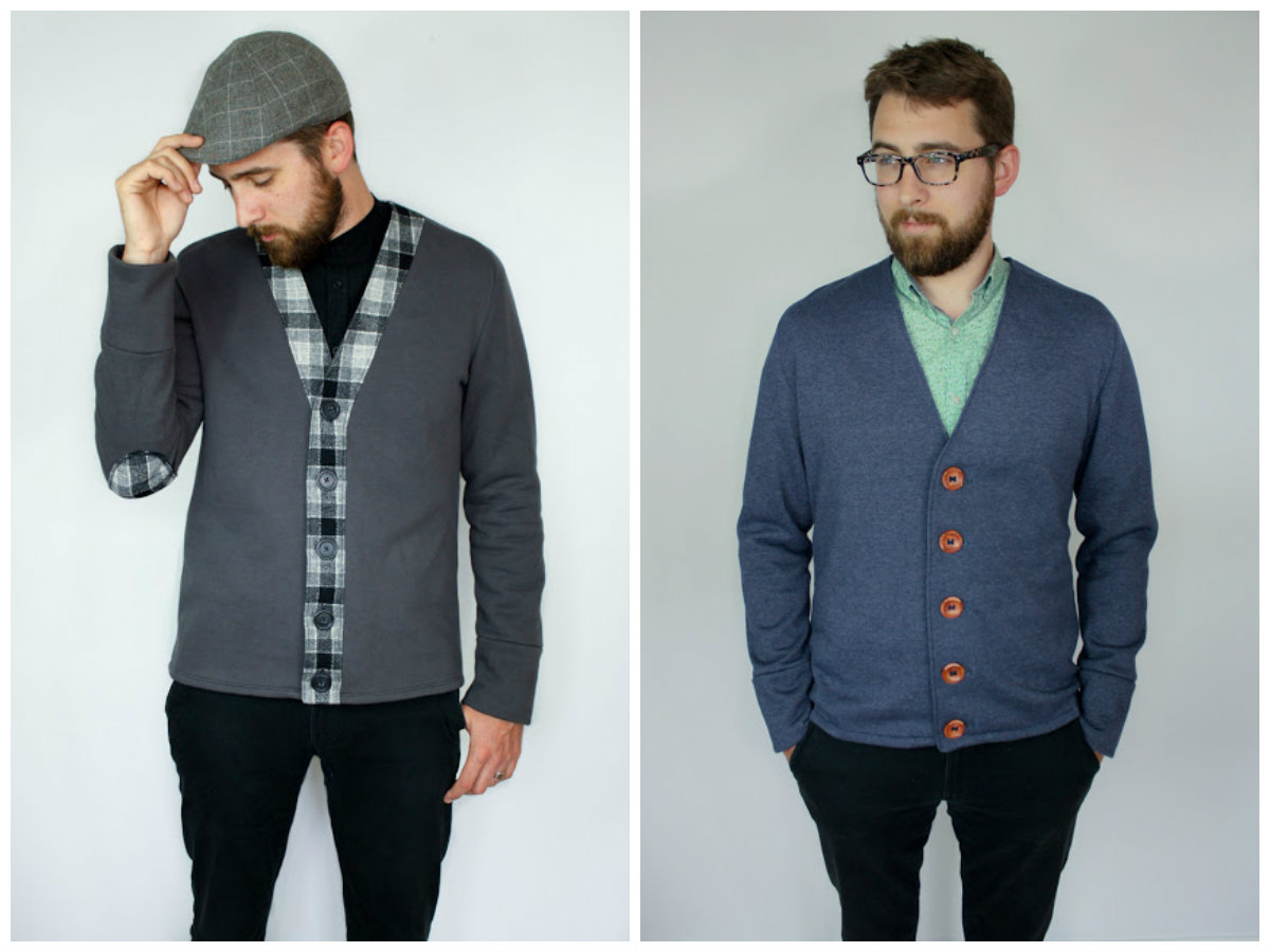Fine Knit Cardigan Patterns Ensign - Decke Stricken Muster ...