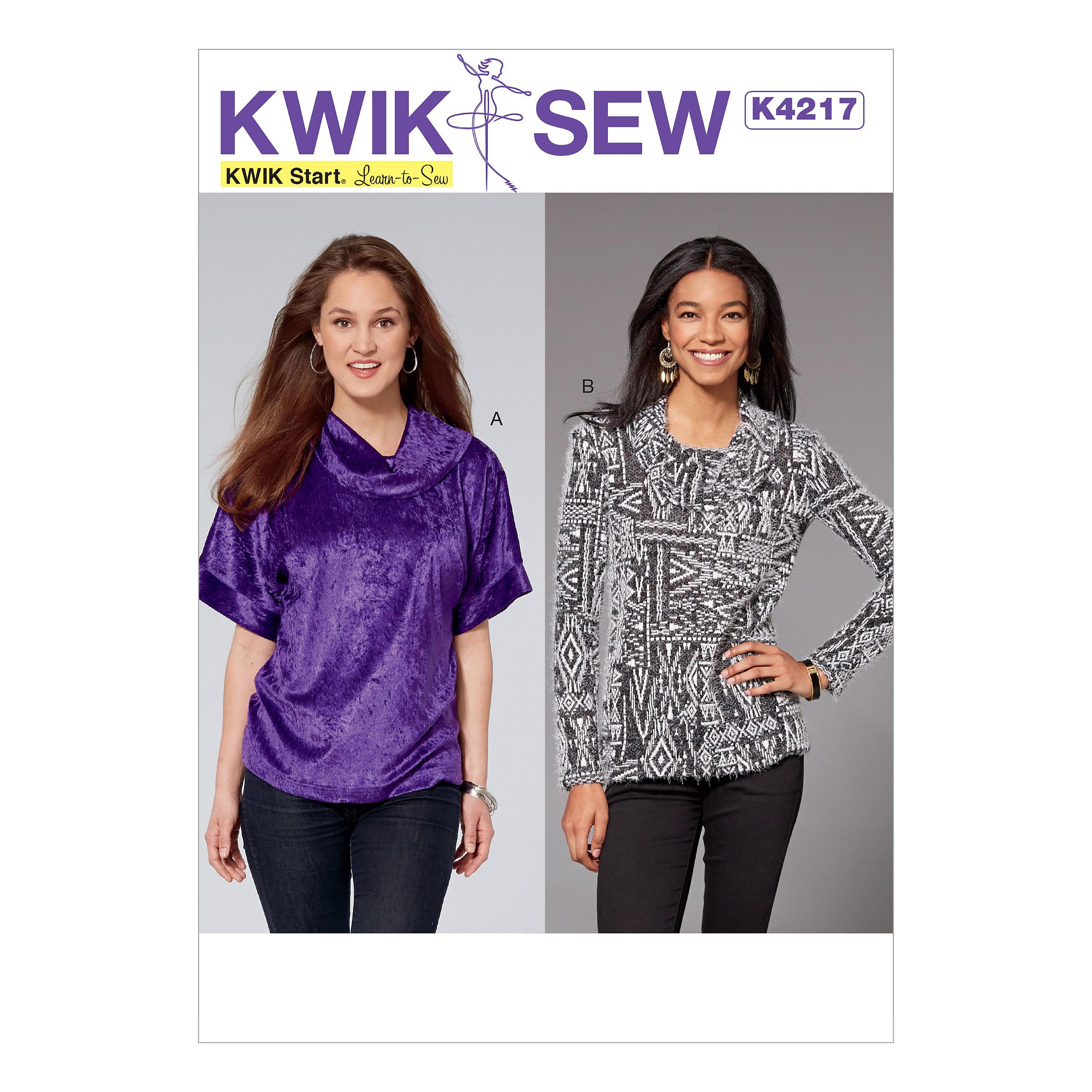 Kwik sew 4217 misses cowl neck tops prevnext jeuxipadfo Choice Image