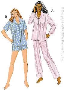 Kwik Sew 2811 Misses Pajamas