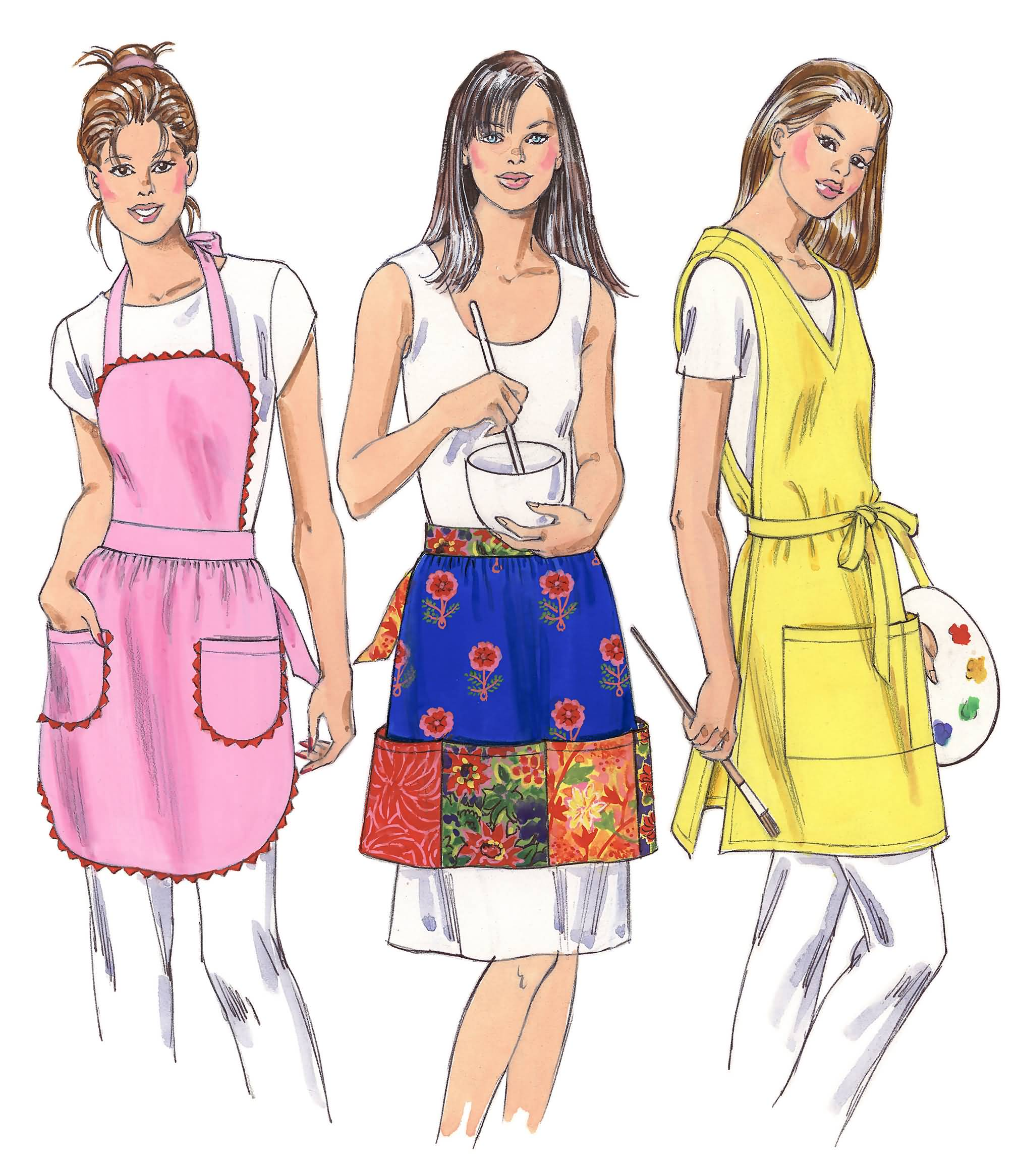 Kwik sew 3320 crafts apron prevnext jeuxipadfo Choice Image